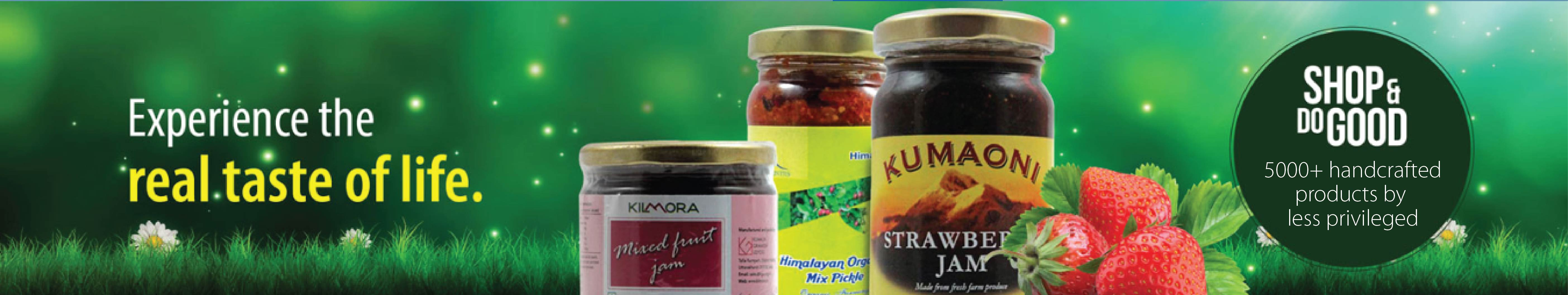 Organic Jams, Pickles & Chutneys