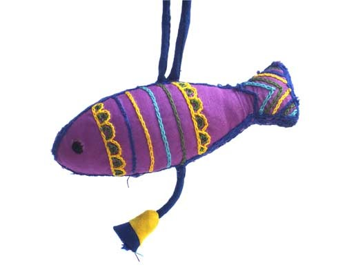 Aari Work Decorative Fish Hanging