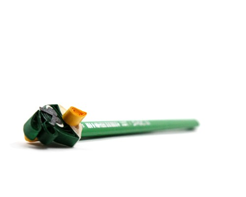 Dark Green Angry Bird Pencil