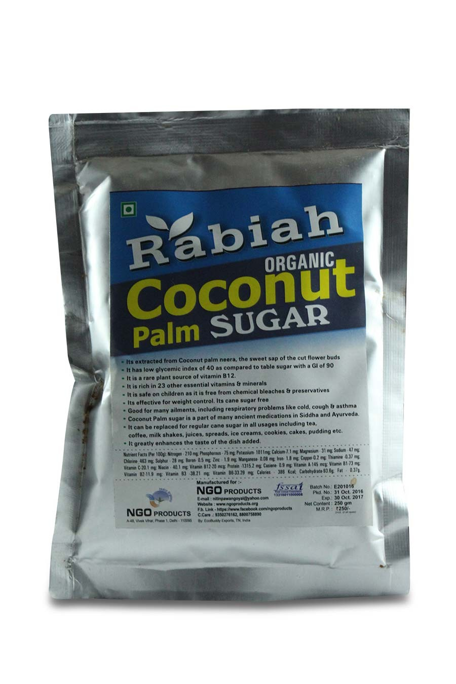 Natural Coconut Palm Sugar