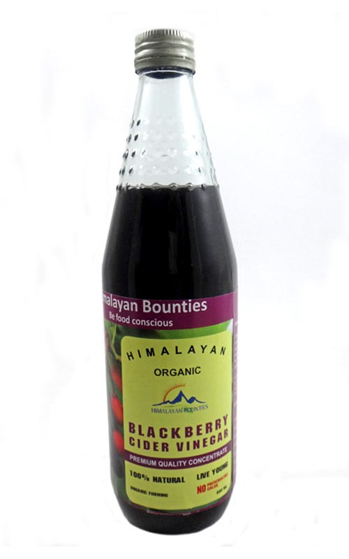 Organic Blackberry Cider Vinegar
