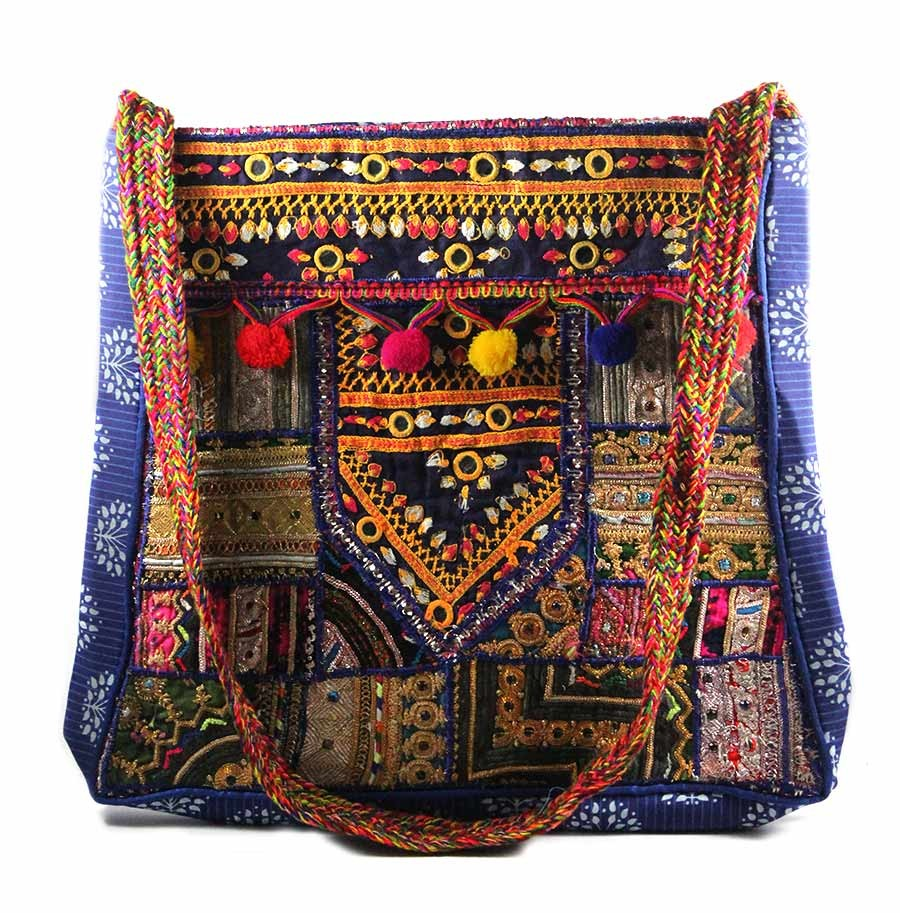 Classy Multicolor Ethnic Fashion Sling Bag by Artisans of Gujarat