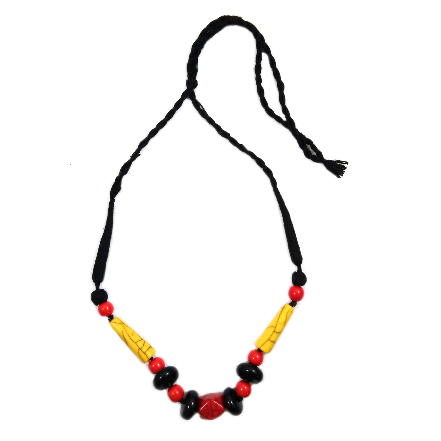 Handmade Costume Fashion Jewelry Yellow/Red/Black (NER) by Women Groups  sc 1 st  India Meets India : handmade costume jewelry  - Germanpascual.Com