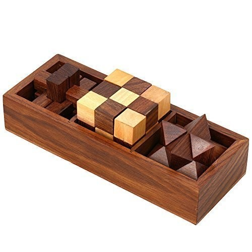Handmade Wooden Game by India Meets India