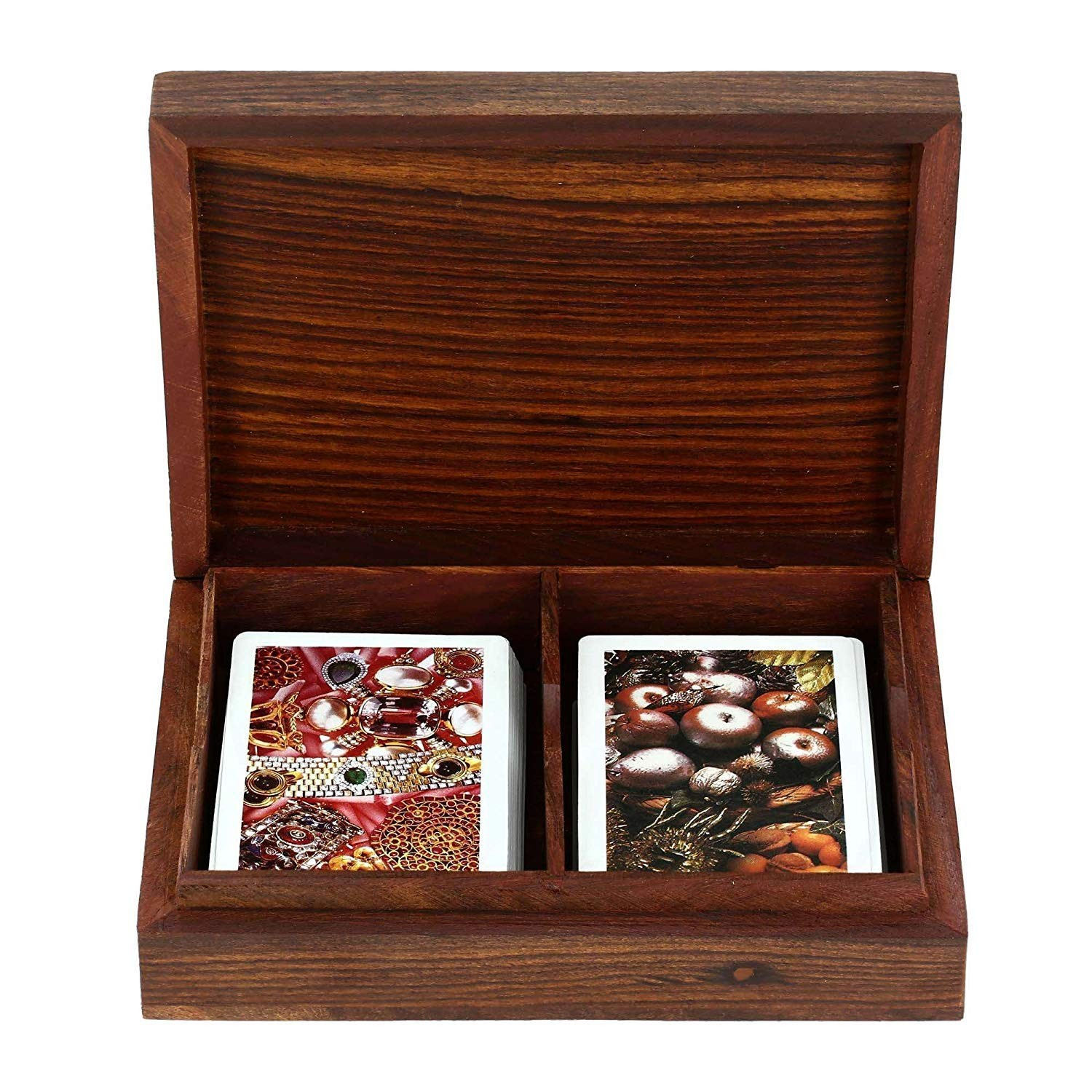 Handmade Wooden Card box by India Meets India