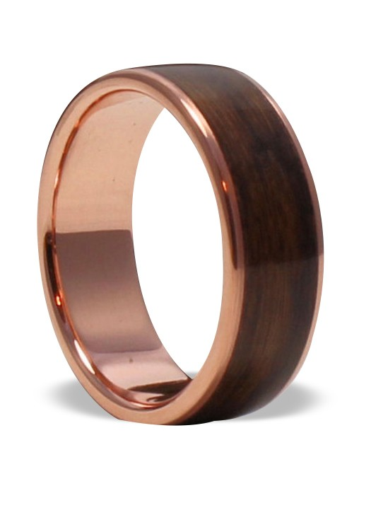 Classy Ethnic Wooden Bangles With Brass And Copper Inlay by Rural Artisans