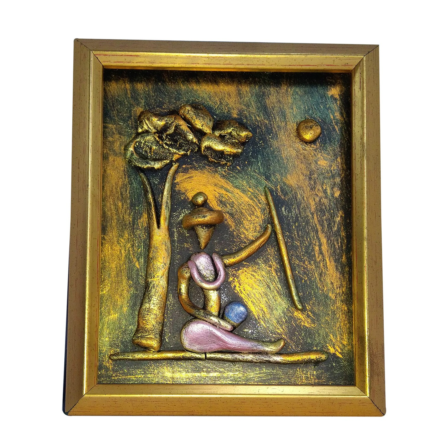 Buy Handmade Decorative New Tribal Art Wall Hanging Painting With