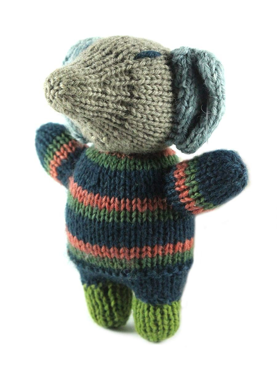 Buy Unique Hand Knitted Toy Elephant Birthday Gift India Meets