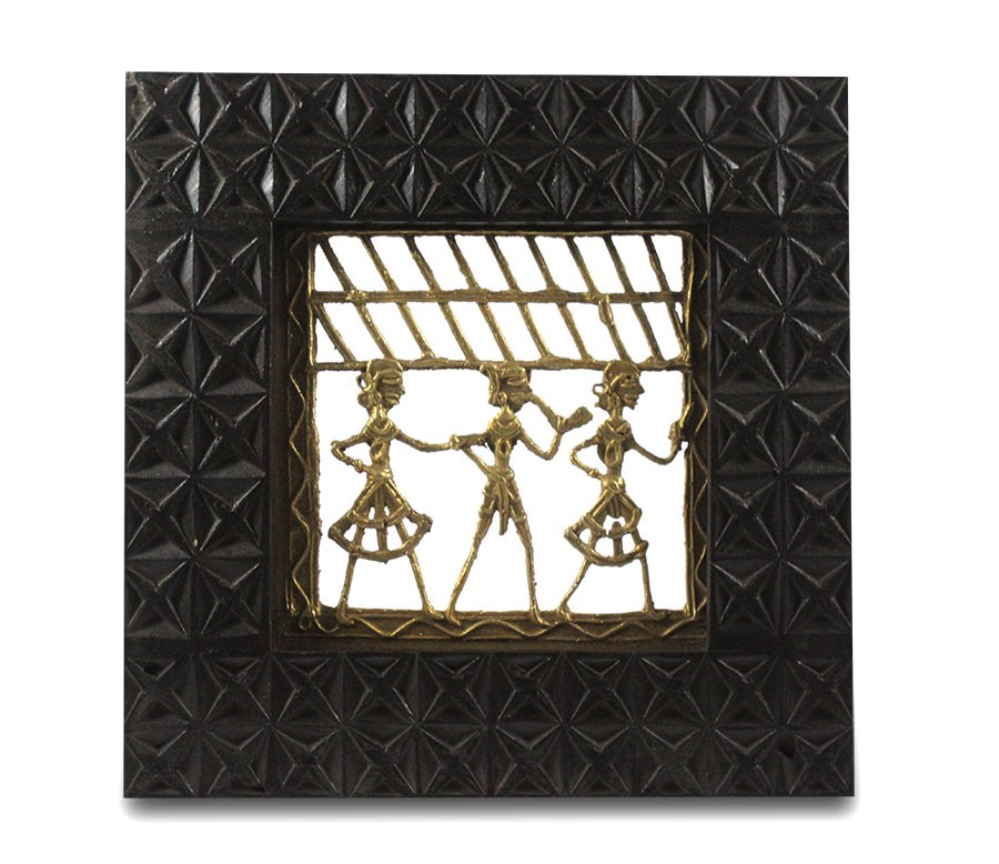 Unique Dokra Brass Wall Hanging by Artisans from Chattisgarh