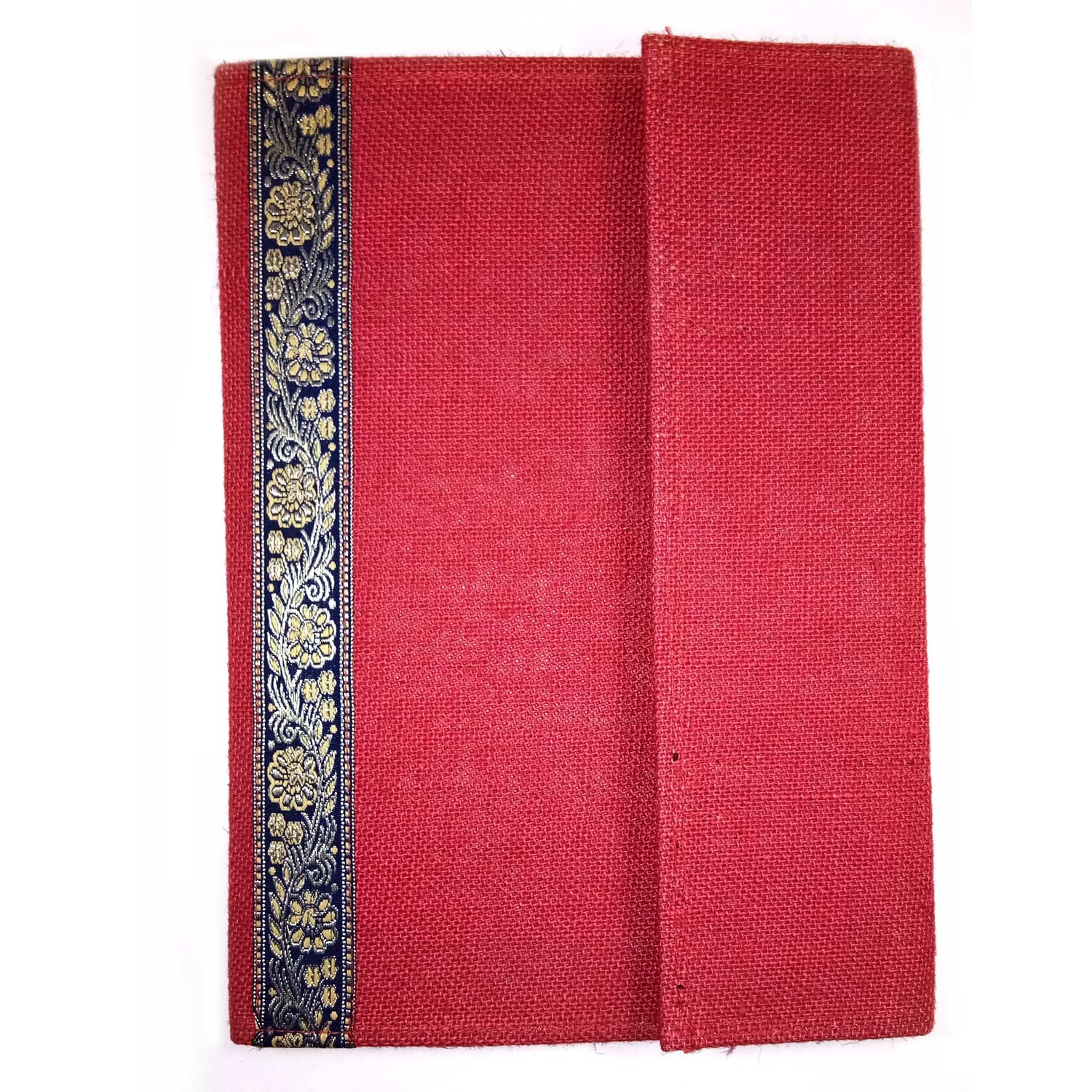 Red Jute File Folder By People with Disability
