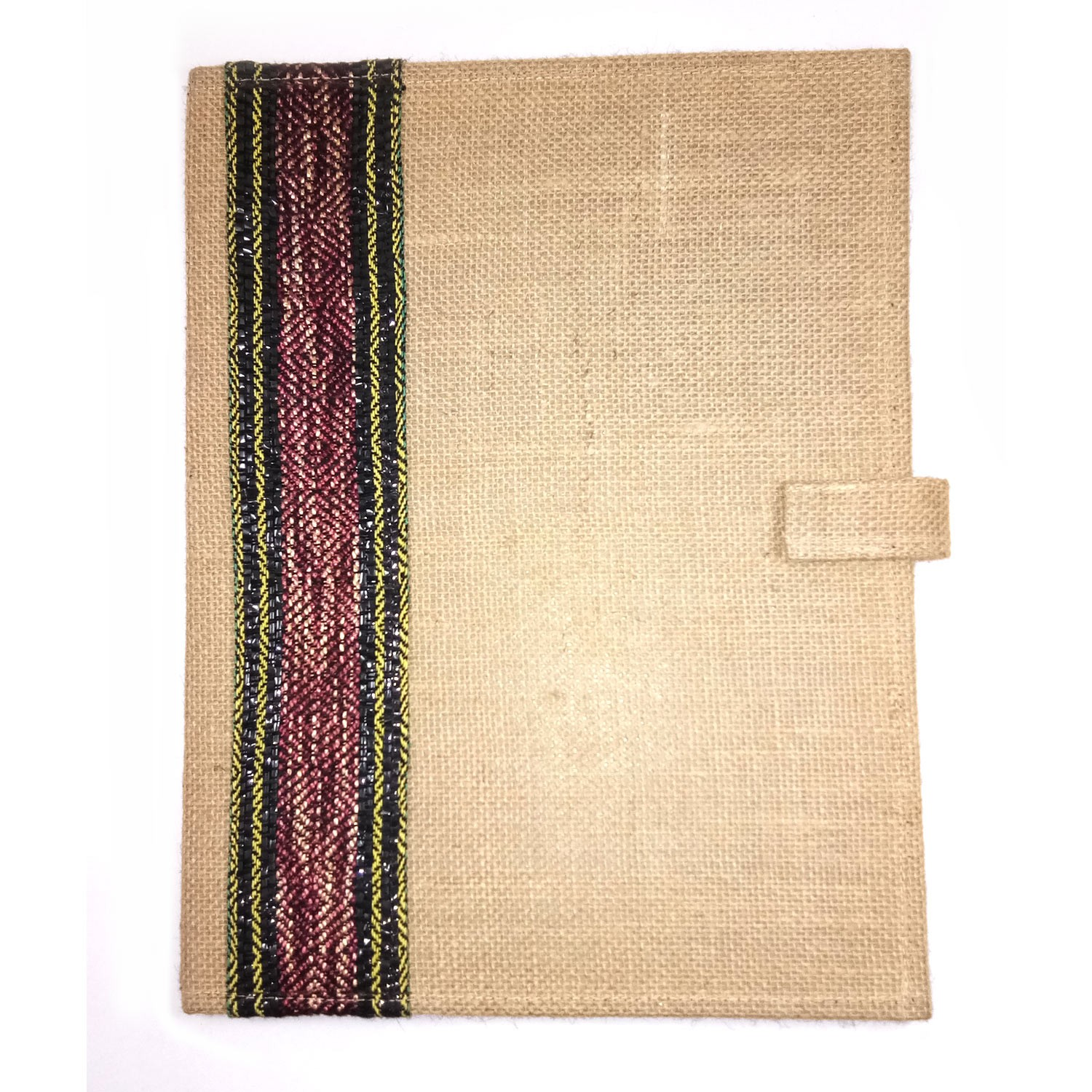 Brown Jute File Folder By People with Disability