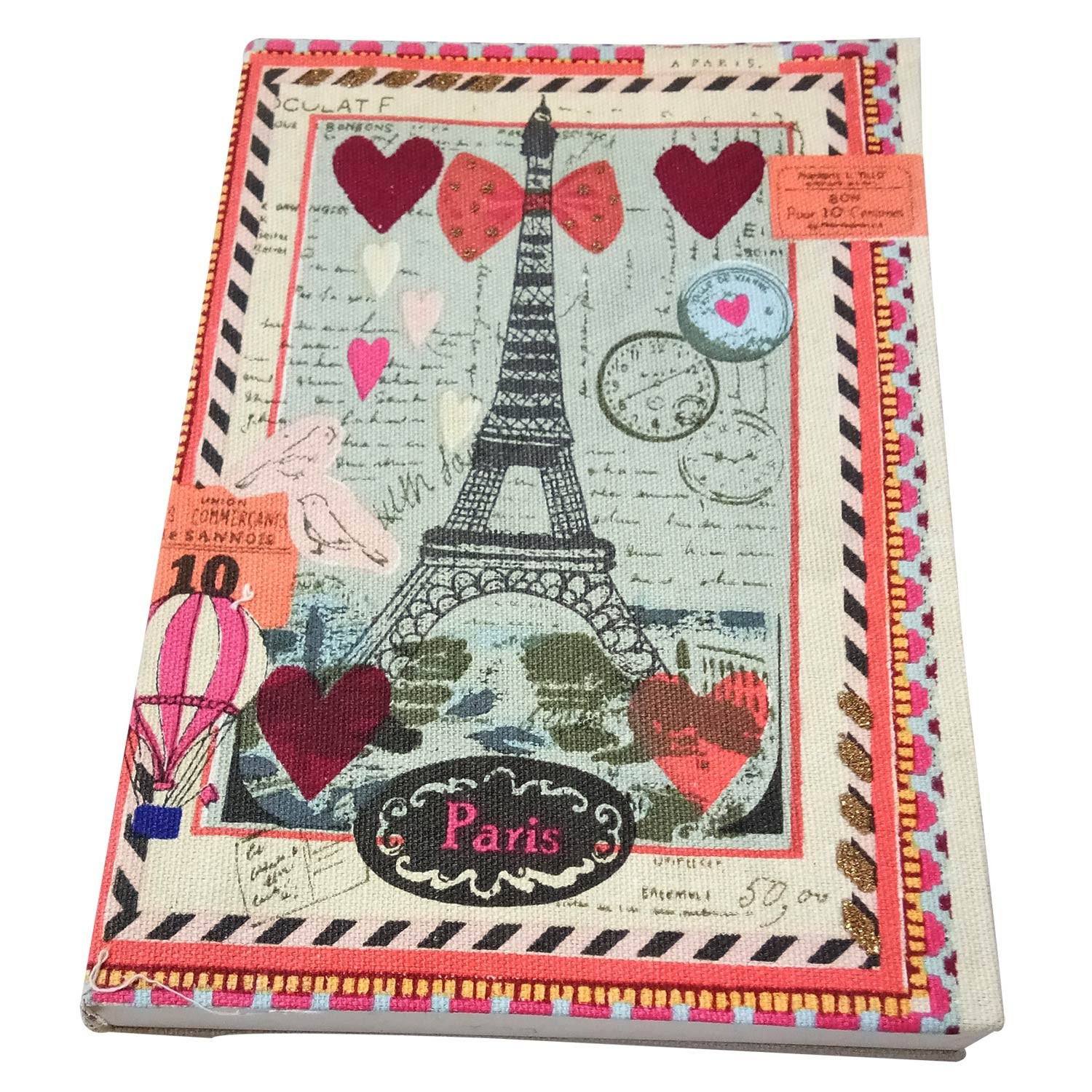 Classy Handmade Paris Dreams Cloth Diary by people of urban slums