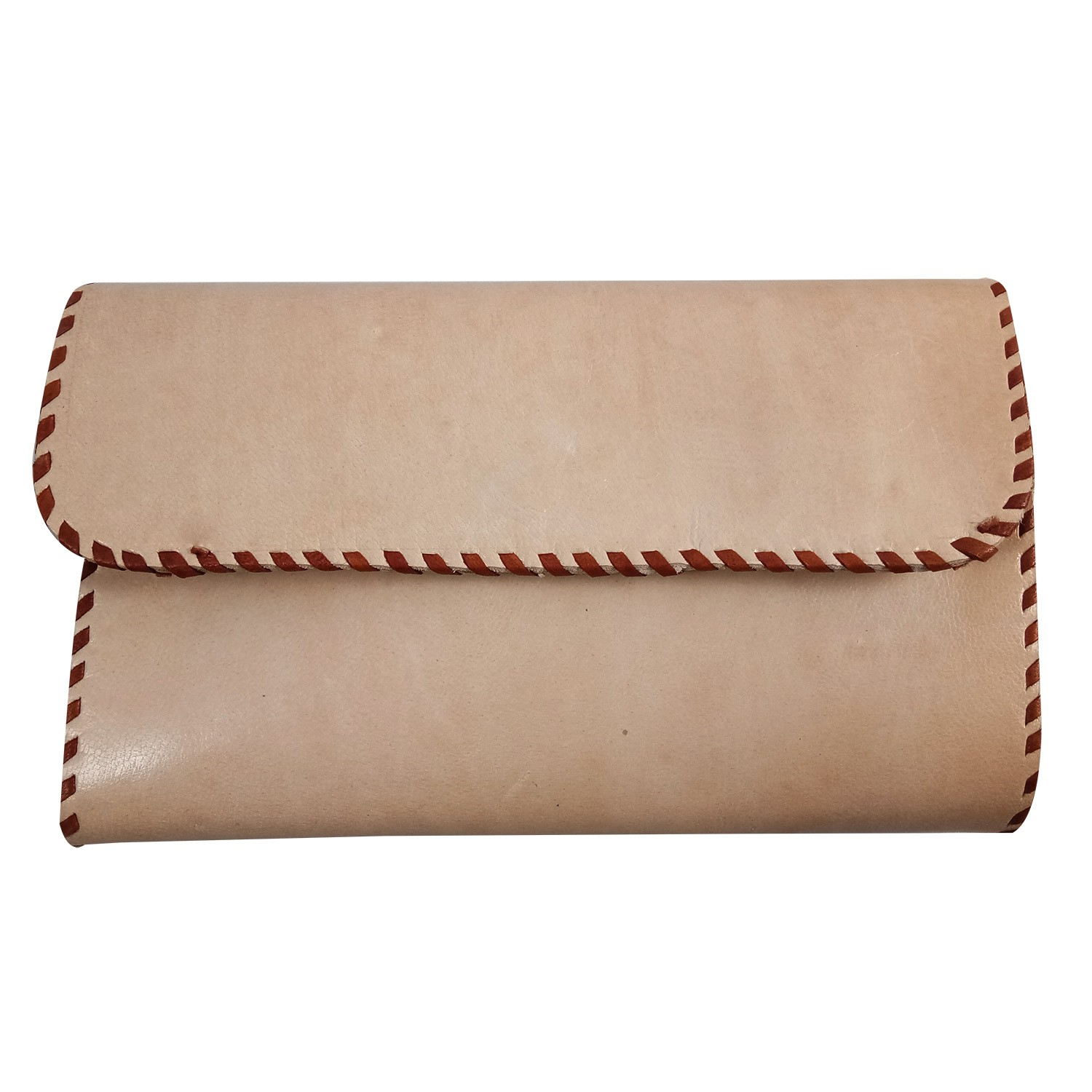 Handmade Stylish Designer Leather Embroidered Clutch Bag by Artisans from Rajasthan