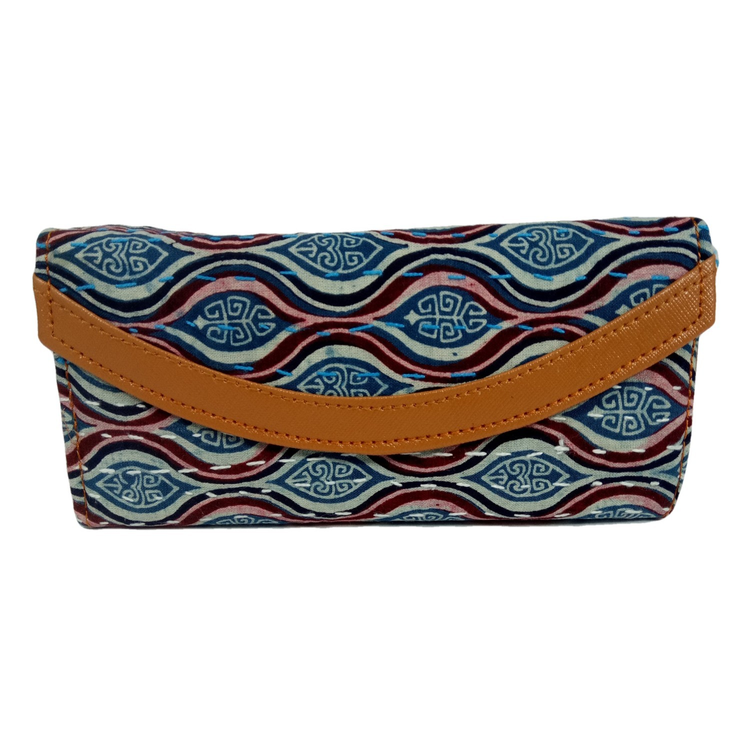 Handmade Excellent Multicolor Genuine Clutch by Women Self Help Groups of Rajasthan