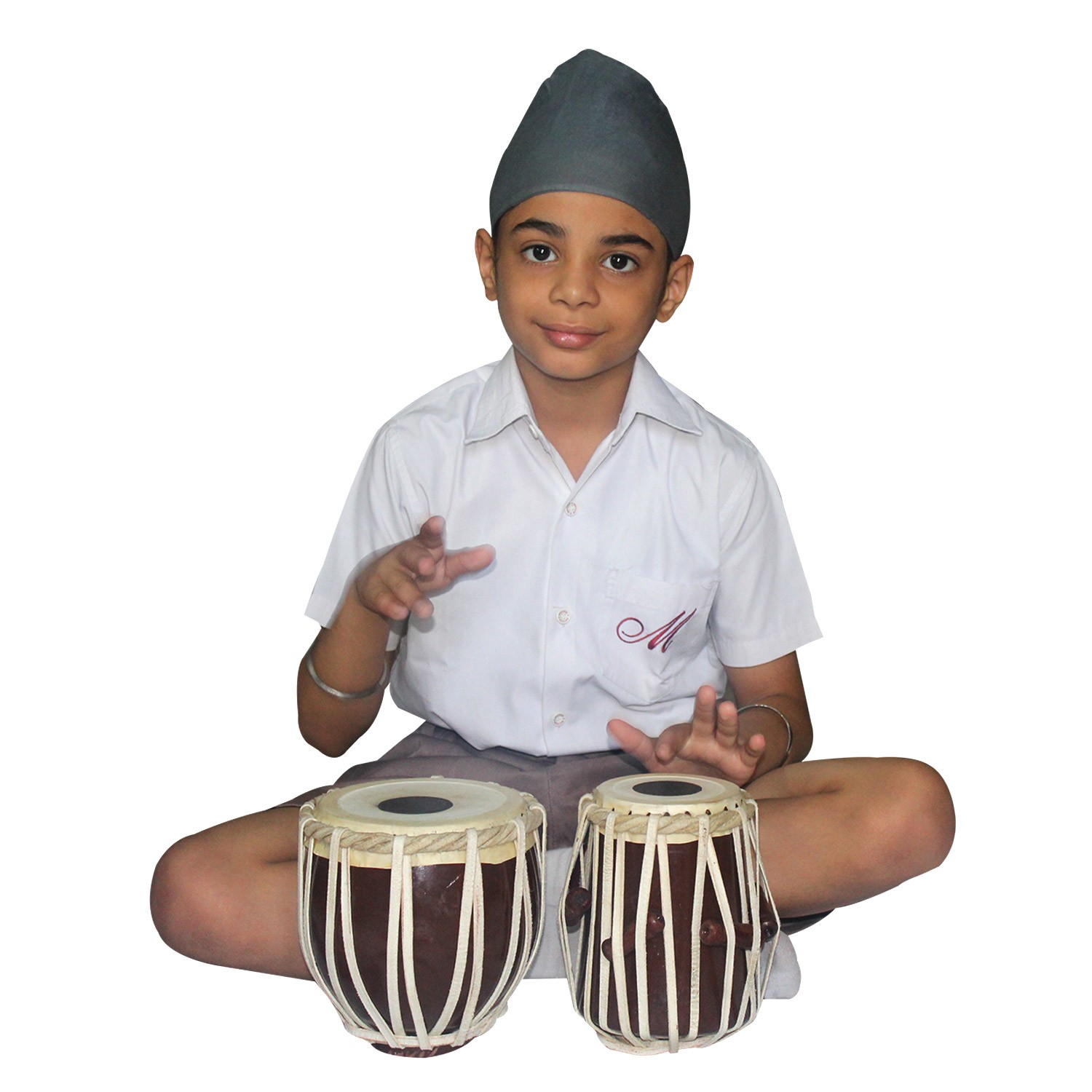 Handmade Wooden Kids Tabla Set by Awarded Artisans