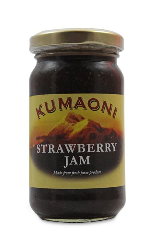 Pure Organic Strawberry Jam