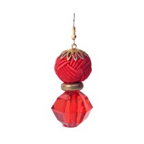 Bright Pink Party Earring by Minority Communities of Bhawana
