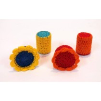 Multicolour Crochet Paper Weights