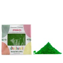 Organic Green Holi Colors Dry Gulaal by Intellectually Challenged