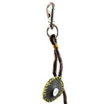 Brown Buttons Keychain  by Disadvantaged Youth & Women in Rural Faridabad