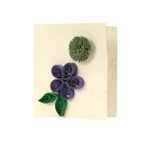 Handmade Floral Paper Quilled All Occasion Gift Tags (Set of 4) by Women Self Help Group