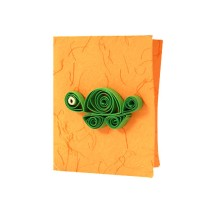 Handcrafted Assorted Paper Quilled All Occasion Gift Tags (Set of 4) by Women Self Help Group