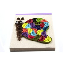 Multi-Coloured Butterfly Notepad