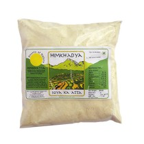 100% Pure Organic Soya Flour Atta By Hill Farmers of Uttrakhand
