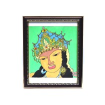 King Queen Wall Painting