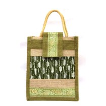 Olive Green All Purpose Jute bag
