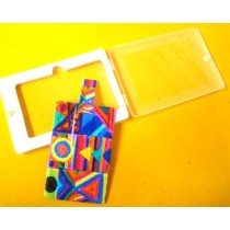 Handcrafted Vibrant Geometrical Print Pendrive 4 GB by Disadvantaged Women