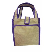 Camel Jute Bag by Adults with Autism