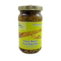 Organic Green Chilli Pickle