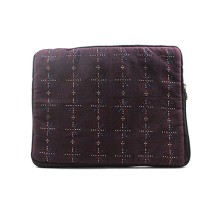 Handmade Purple Tangalia cloth iPad Cover by Rural Artisans of Gujarat