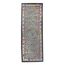 Multicolor Chakravyuh Madhubani Wall Hanging by Artist from Bihar