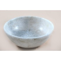 Exclusive  White Marble Bowl by Artisans from Agra