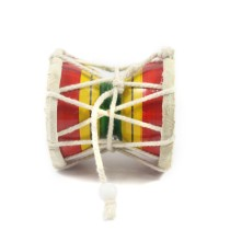 """Handmade Crafted Playing Wooden Damroo Use as a  """"Decorative Showpiece Gift""""   (Size:- Upto 3 Inch)"""
