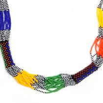 Handmade Costume Fashion Jewelry Multicolor  Necklace & Earrings (NER) by Women Groups