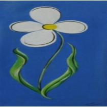 Exclusive Blossoming Jasmine Wall Hanging by Differently Abled Artist