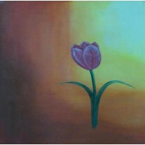 Exclusive Blossoming Tulip Wall Hanging by Differently Abled Artist