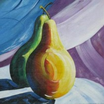 Exclusive Pear Season Wall Hanging by Differently Abled Artist