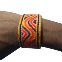 Handmade Brown Genuine Leather Band by Rural Artisans