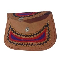 Handmade Brown Genuine Leather Vintage Clutch by Rural Artisans