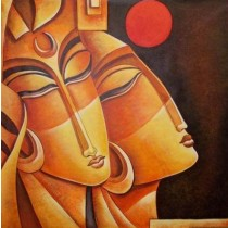 Exclusive Esense of Bindi Wall Hanging by Differently Abled Artist
