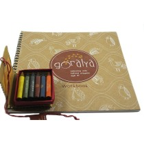 100% Natural Crayons Kids Coloring Kit by Women artisans from Uttrakhand
