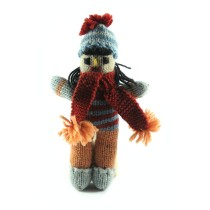 Exquisite Hand Knitted Toy Doll by Women artisans of Uttrakhand