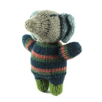 Unique Hand Knitted Toy Elephant by Women artisans of Uttrakhand