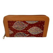 Handmade Excellent Red Genuine Clutch by Women Self Help Groups of Rajasthan