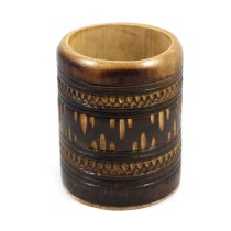 Handmade Natural Bamboo Pen Holder by Artisans from North East India