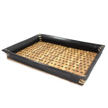 Handmade Natural Bamboo Serving Tray by Artisans from North East India